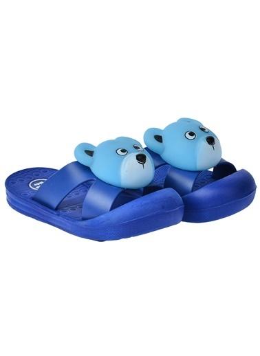 Kiko Kids Kiko Akn E238.002 Plaj Havuz Sesli Erkek Çocuk Sandalet Terlik Turkuaz